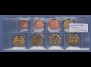 Griechenland EURO-Kursmünzensatz Jahrgang 2006 bankfrisch / unzirkuliert