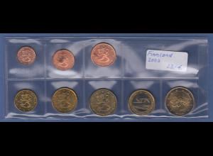 Finnland EURO-Kursmünzensatz Jahrgang 2003 bankfrisch / unzirkuliert