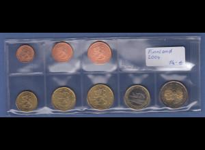 Finnland EURO-Kursmünzensatz Jahrgang 2004 bankfrisch / unzirkuliert