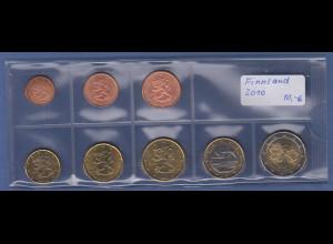 Finnland EURO-Kursmünzensatz Jahrgang 2010 bankfrisch / unzirkuliert