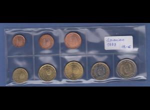 Spanien EURO-Kursmünzensatz Jahrgang 1999 bankfrisch / unzirkuliert