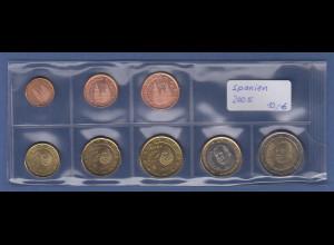 Spanien EURO-Kursmünzensatz Jahrgang 2005 bankfrisch / unzirkuliert