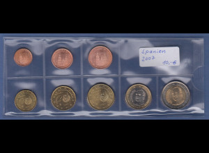 Spanien EURO-Kursmünzensatz Jahrgang 2007 bankfrisch / unzirkuliert