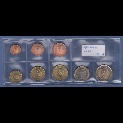 Spanien EURO-Kursmünzensatz Jahrgang 2009 bankfrisch / unzirkuliert