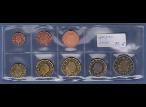 Belgien EURO-Kursmünzensatz Jahrgang 2000 bankfrisch / unzirkuliert