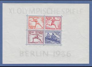 Deutsches Reich 1936 Olympiade Mi.-Nr. Block 6 einwandfrei postfrisch **