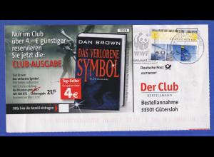 Deutschland ATM Posttower TOTALVERSCHNITT bedarfsverwendet auf Werbeantwort
