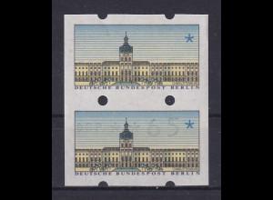 Berlin ATM zusammenhängendes Paar Leerfeld / ATM Wert 65. Selten !