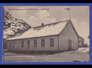 AK Stamsund Inlands Seemannsmission Fiskerhjem, gelaufen 1921