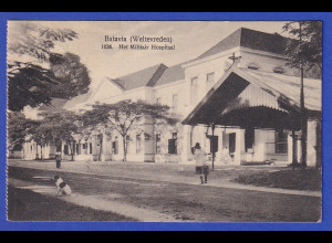 AK Batavia Lazarett, gelaufen 1926