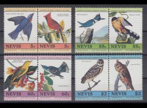 Nevis 1985 Vögel Mi.-Nr. 252-259 **