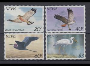 Nevis 1985 Seevögel Mi.-Nr. 248 - 251 **