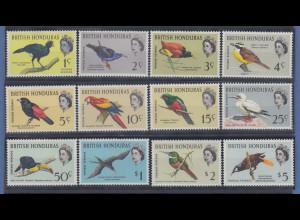 Honduras 1962 Vögel Mi.-Nr. 164 - 175 **