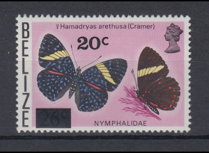 Belize 1976 Schmetterlinge Mi.-Nr. 363 **