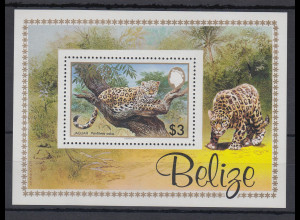 Belize 1983 Jaguar Mi.-Nr. Block 61 **