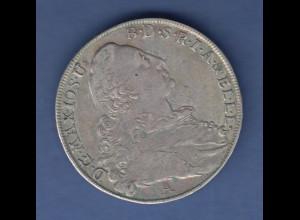 Bayern alter Münze Taler Sautaler Maximilian III. Patrona Bavariae 1774