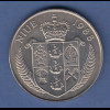 """Niue Münze 5 Dollar John F. Kennedy """"Ich bin ein Berliner"""" 1988, Wappen"""
