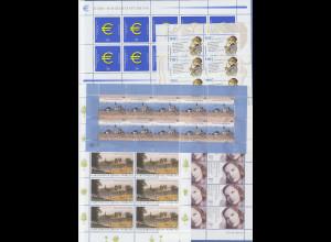 Frankaturware Deutschland orig postfrisch, 710 x 0,56€ in kpl. 10er Bogen