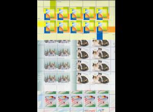 Frankaturware Deutschland original postfrisch, 1200 x 0,55€ in kpl. 10er Bogen
