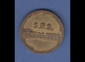 Deutsche Kolonien Schiffsgeld S.M.S Königsberg 200 Pfg.