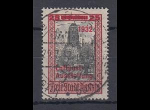 Danzig 1932 LUPOSTA 25 Pfg.-Wert Mi.-Nr. 234 zentrisch gestempelt.