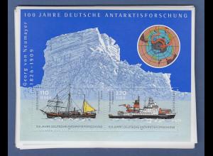 Frankaturware Deutschland orig. postfrisch, Antarktis-Block 2001, 27 Stück !!