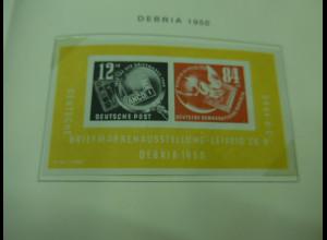 DDR -Sammlung 1956-1968 fast kpl. **, einiges auch davor, u.a. DEBRIA-Block !