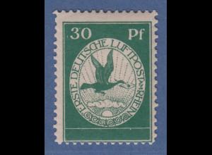 Dt. Reich 1912 Halbamtliche Flugpost 30 Pfg-Wert Mi-Nr. III postfrisch **