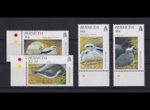 Bermuda 1997 Vögel Mi.-Nr. 723-726 Satz kpl. ** / MNH
