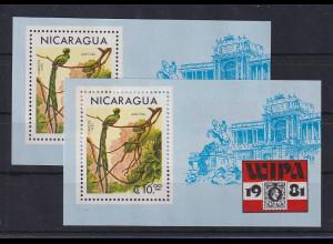Nicaragua 1981 Quetzal Mi.-Nr. Block 137 **