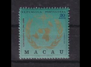 Macau 1973 100 Jahre OMM Mi.-Nr. 457 **