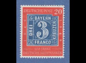 Bundesrepublik 1949 Mi.-Nr. 114 mit Plattenfehler R gebrochen Mi.-Nr 114 I gepr.