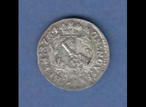 Bremen alte Silbermünze 1 Grote 1764 Reichswappen. ANSEHEN !