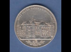 Bremen Gedenktaler zur Eröffnung der Börse 1864, vorzüglich !