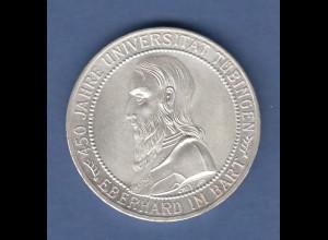 Deutsches Reich Silber-Gedenkmünze Uni Tübingen 5 Mark 1927 A vorzüglich-stgl.