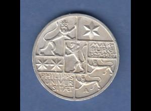 Deutsches Reich Silber-Gedenkmünze Uni Marburg 3 Mark 1927 A vorzüglich