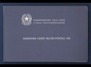 Italien Jahrgang 1985 ** im offiziellen Jahrbuch der italienischen Post