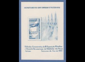 Brasilien 1965 Folhinha Filatélica Luftwaffe / Semana da Asa ungestempelt