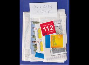 Frankaturware Deutschland orig. postfrisch, 100 x 0,45€ = 45€ Frankaturwert