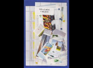 Frankaturware Deutschland orig. postfrisch 100 x 0,45€ ges. 45€ Frankaturwert