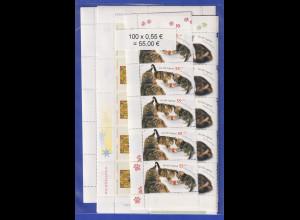 Frankaturware Deutschland orig. postfrisch 100 x 0,55€ ges. 55€ Frankaturwert