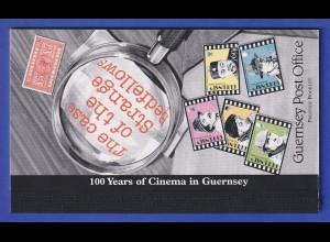 Guernsey 1996 100 Jahre Kino Markenheftchen Mi.-Nr. MH 40 **