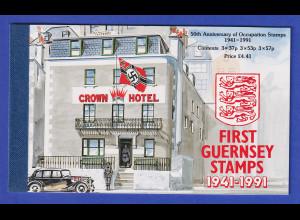 Guernsey 1991 Dt. Besatzungs-Marken 1941 Markenheftchen Mi.-Nr. MH 34 **