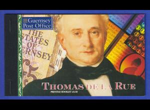 Guernsey 1993 Thomas de la Rue Markenheftchen Mi.-Nr. MH 0-12 **