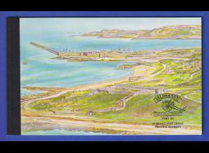 Guernsey-Alderney 1999 Historische Entwicklung Markenheftchen Mi.-Nr. MH 7 **