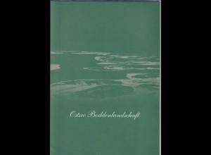 Bund 2015 Ostsee-Boddenlandschaft Mi-Nr. 3126 KLB im Folder, ET-O Datum falsch !