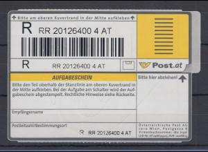 Österreich 2002 Einschreibemarke Mi.-Nr. 1 **