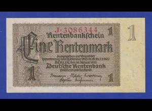 Banknote Deutsches Reich Deutsche Rentenbank Eine Rentenmark KN 7-stellig