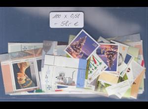 Frankaturware Deutschland orig. postfrisch, 100 x 0,58€ = 58,00€ Frankaturwert