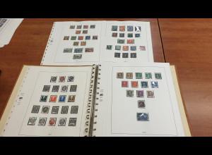 Sammlung Deutsches Reich 1924-45, ab 1936 fast kpl. mit Blocks, ab 1938 vorw. **